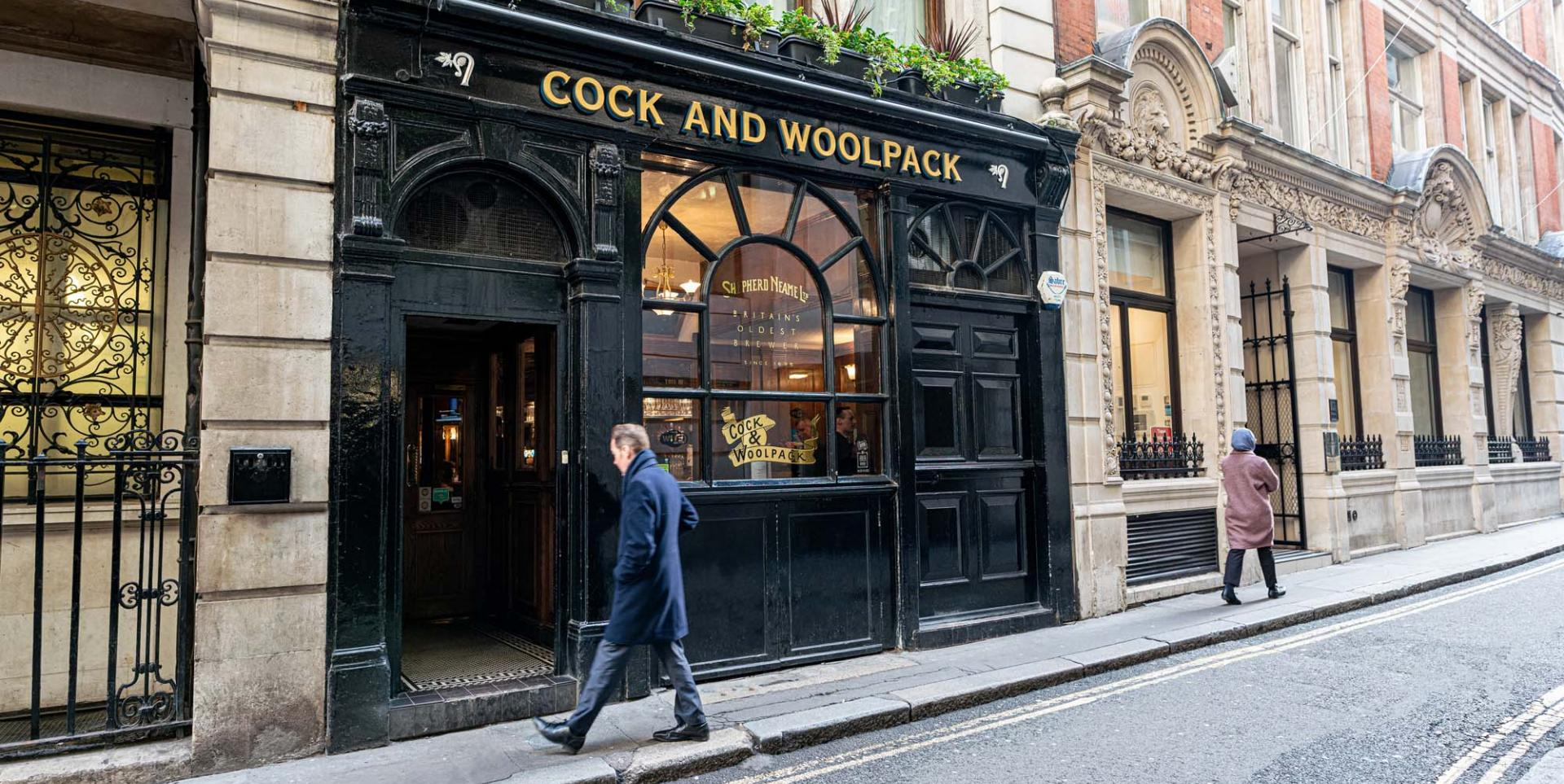 Cock and woolpack exterior