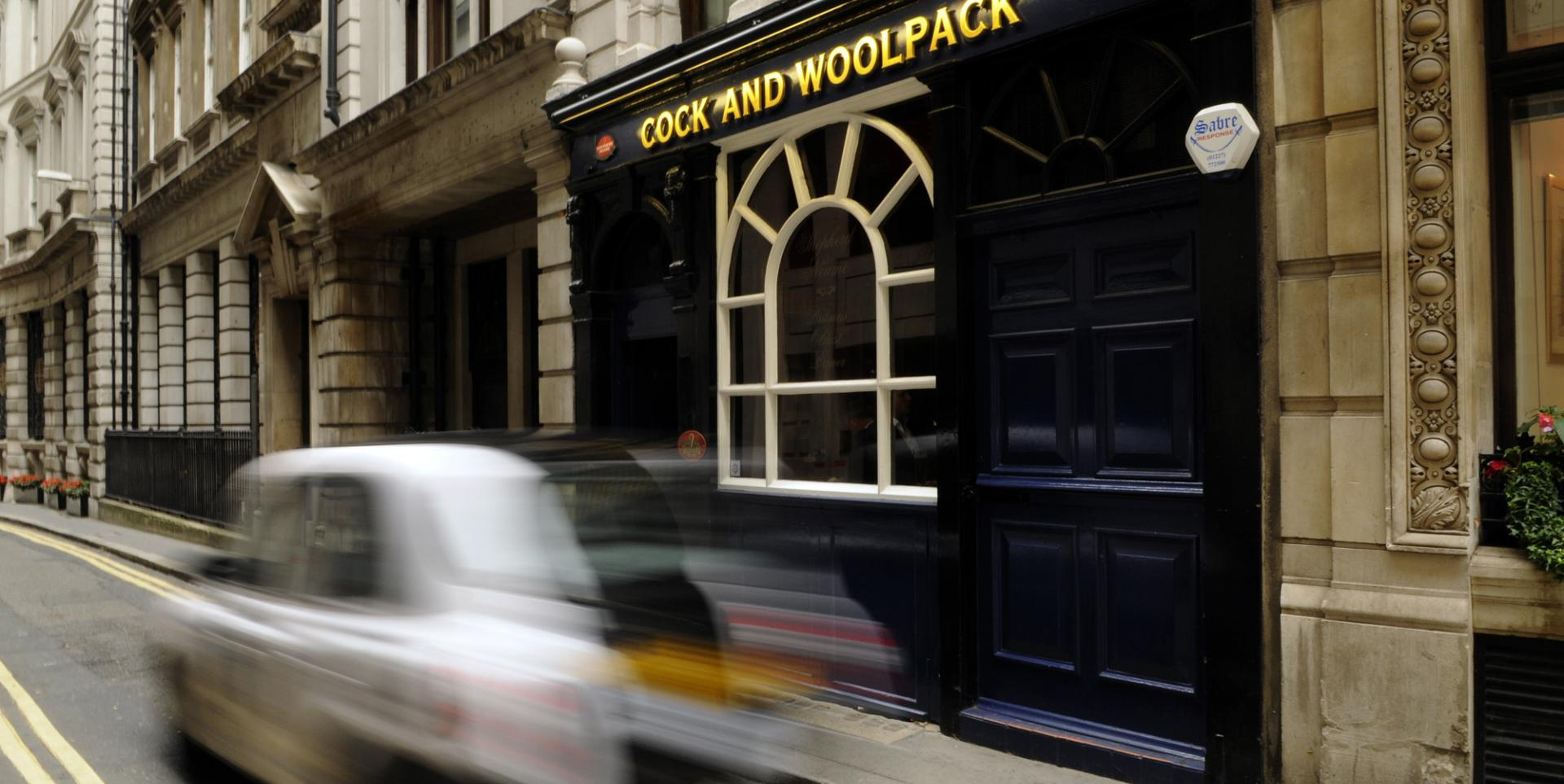 Cock and Woolpack - London - Exterior